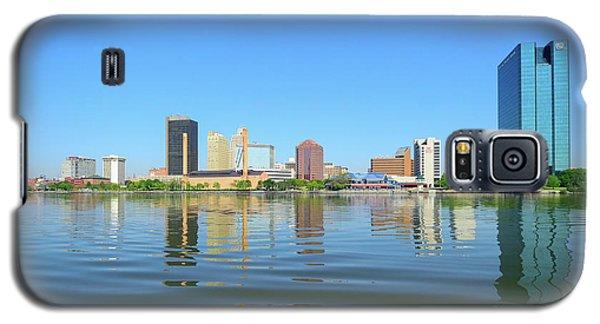 D12u-673 Toledo Ohio Skyline Photo Galaxy S5 Case
