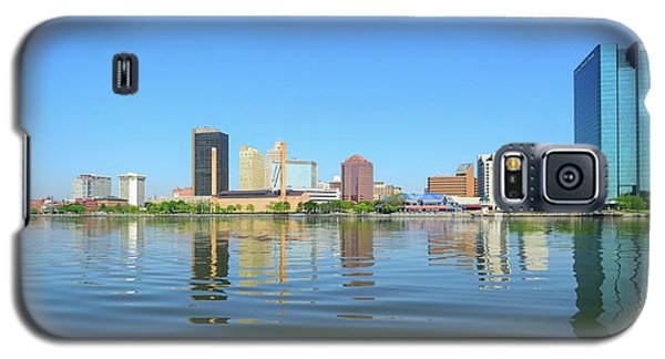D12u-673 Toledo Ohio Skyline Photo Galaxy S5 Case