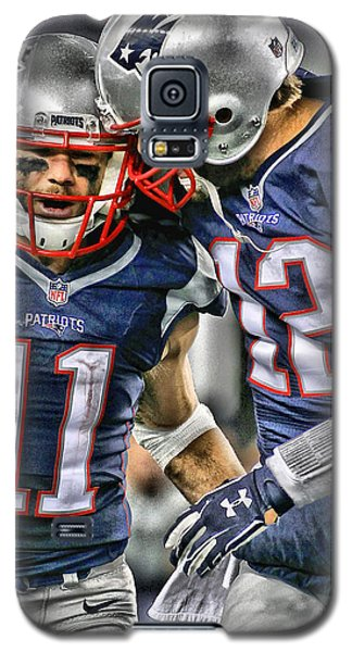 Tom Brady Art 1 Galaxy S5 Case
