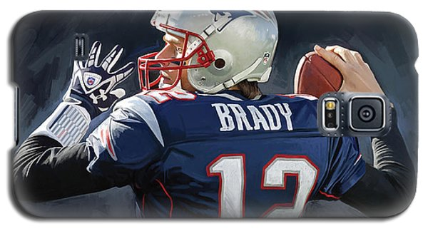 Tom Brady Artwork Galaxy S5 Case