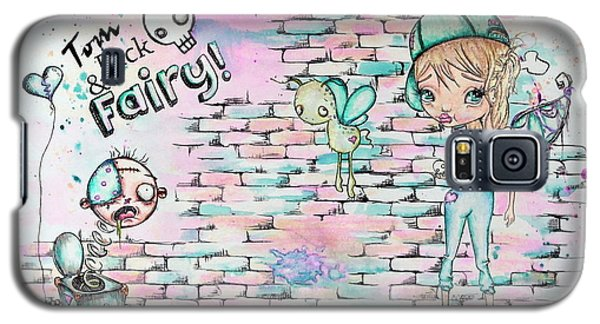 Tom Dick And Fairy Galaxy S5 Case by Lizzy Love