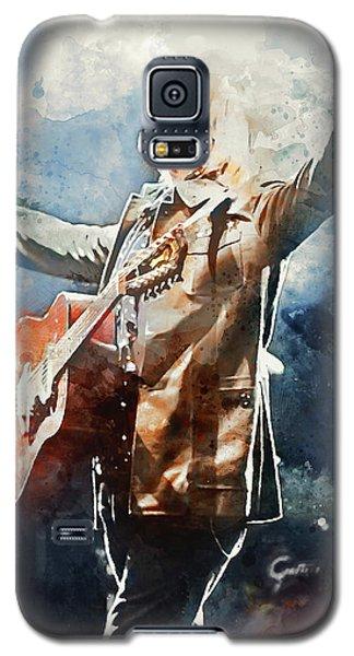 Tom Petty - Watercolor Portrait 13 Galaxy S5 Case