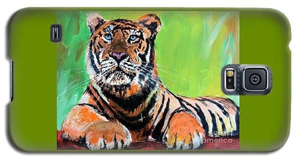 Tom Tiger Galaxy S5 Case by Tom Riggs