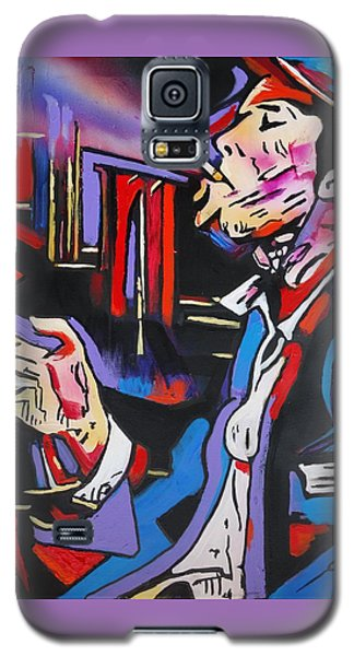 Galaxy S5 Case featuring the painting Tom Traubert's Blues by Eric Dee