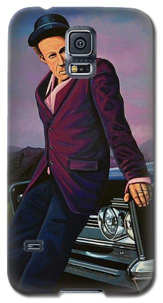 Tom Waits Galaxy S5 Case by Paul Meijering