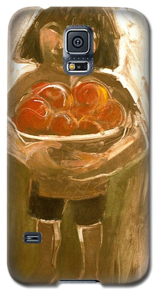Tomato Girl Galaxy S5 Case