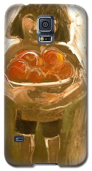 Tomato Girl Galaxy S5 Case