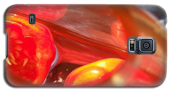Tomatoe Red Galaxy S5 Case