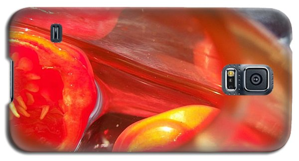 Tomatoe Red Galaxy S5 Case