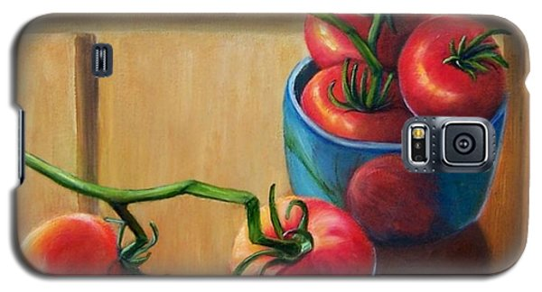 Tomatoes Fresh Off The Vine Galaxy S5 Case by Susan Dehlinger