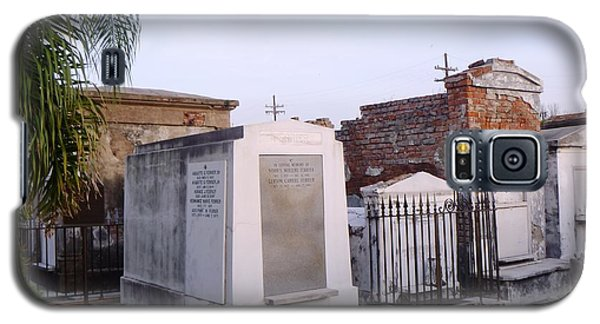 Tombs In St. Louis Cemetery Galaxy S5 Case