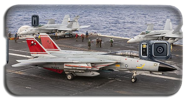 Tomcatters Aboard The Uss Theodore Roosevelt Galaxy S5 Case
