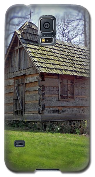 Tom's Country Church And School Galaxy S5 Case