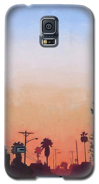 Galaxy S5 Case featuring the painting Tonal Hollywood by Andrew Danielsen