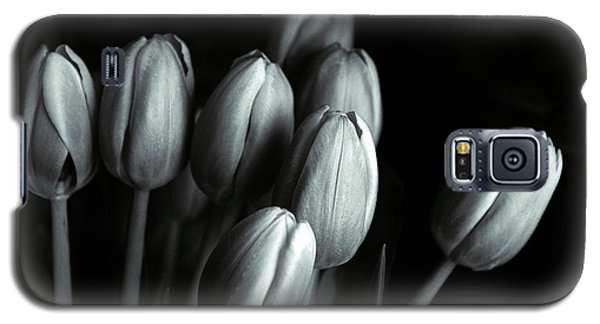 Galaxy S5 Case featuring the photograph Tonal Tulips by Jessica Jenney
