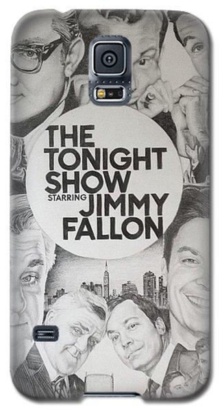 Johnny Carson Galaxy S5 Case - Tonight Show by Danielle Billings