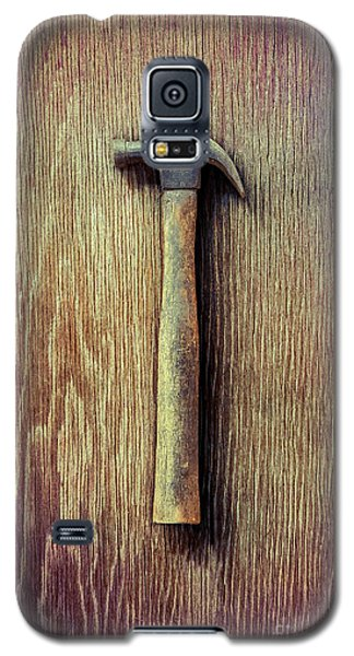 Tools On Wood 53 Galaxy S5 Case