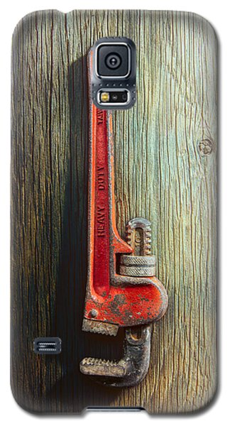 Tools On Wood 70 Galaxy S5 Case