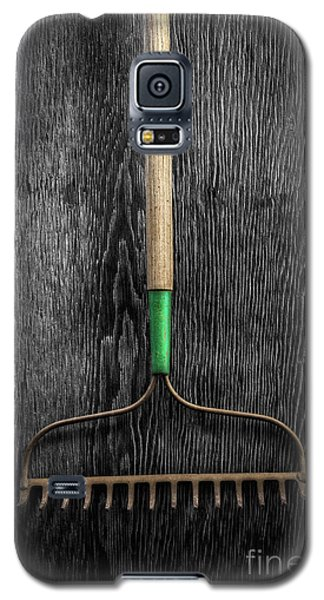 Galaxy S5 Case featuring the photograph Tools On Wood 9 On Bw by YoPedro