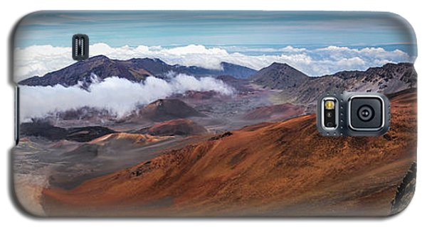 Top Of Haleakala Crater Galaxy S5 Case