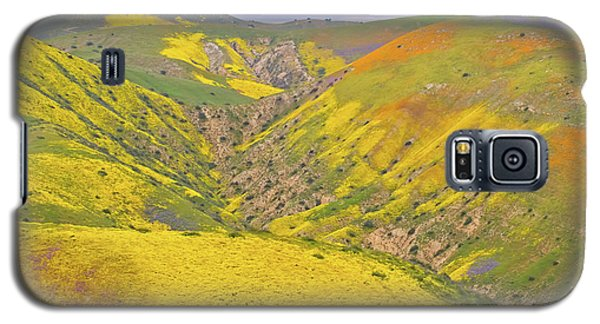 Galaxy S5 Case featuring the photograph Top Of The Temblor Range by Marc Crumpler