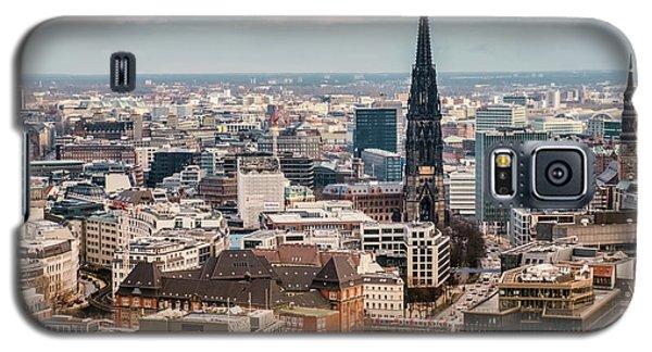 Top View Of Hamburg Galaxy S5 Case