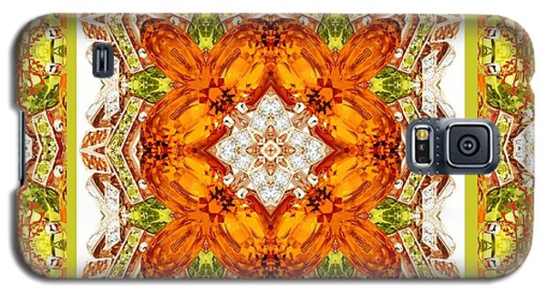 Topaz And Peridot Bling Kaleidoscope Galaxy S5 Case