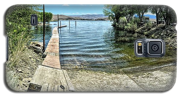 Topaz Landing Boat Launch Galaxy S5 Case