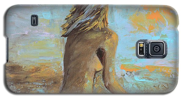 Topless Beach Galaxy S5 Case by Donna Blackhall