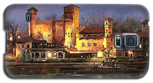 Castle Galaxy S5 Case - Torino-il Borgo Medioevale Di Notte by Guido Borelli
