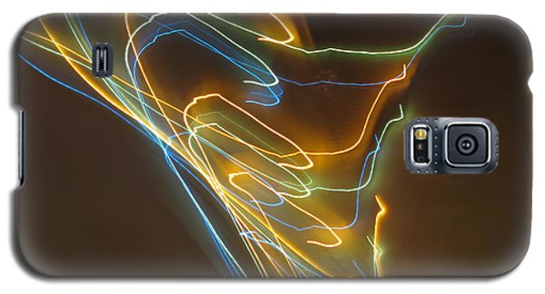 Galaxy S5 Case featuring the photograph Tornado Of Lights. Dancing Lights Series by Ausra Huntington nee Paulauskaite