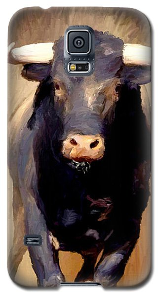 Bull Toro Bravo Galaxy S5 Case by James Shepherd
