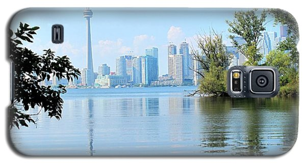 Toronto From The Islands Park Galaxy S5 Case