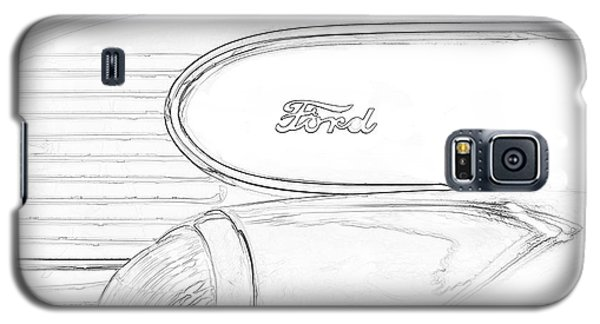 Galaxy S5 Case featuring the photograph Torpedo Ford by Jeffrey Jensen