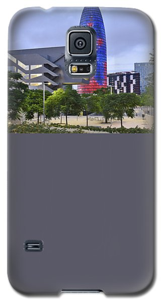 Galaxy S5 Case featuring the photograph Torre Agbar Barcelona  by Marek Stepan