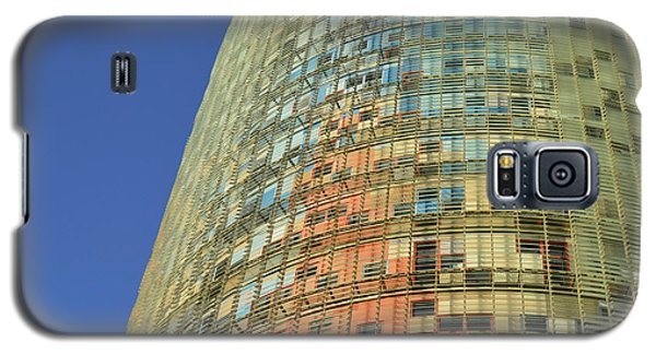 Galaxy S5 Case featuring the photograph Torre Agbar  by Marek Stepan