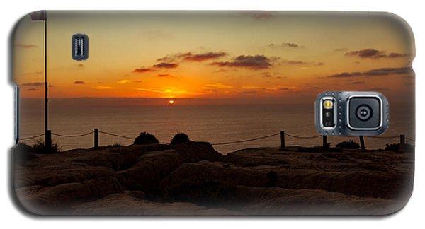 Torrey Pine Glider Port Sunset Galaxy S5 Case