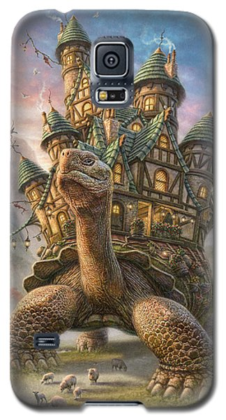 Tortoise House Galaxy S5 Case by Phil Jaeger