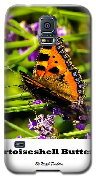 Tortoiseshell Butterfly. Galaxy S5 Case