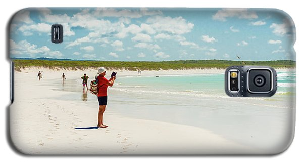 Tortuga Bay Beach At Santa Cruz Island In Galapagos  Galaxy S5 Case