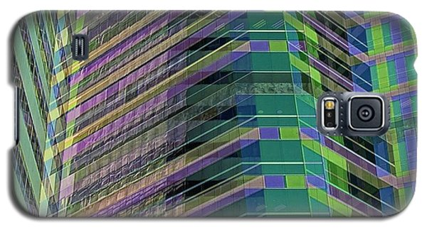 Abstract Angles Galaxy S5 Case