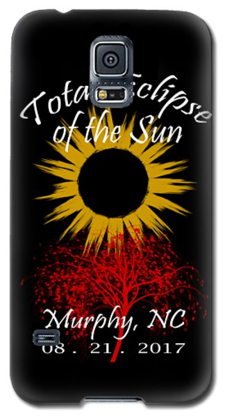Total Eclipse T-shirt Art Murphy Nc Galaxy S5 Case