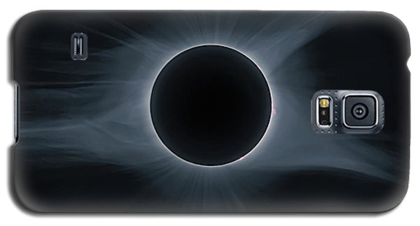 Total Solar Eclipse Corona Galaxy S5 Case