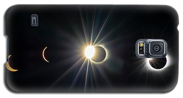 Total Solar Eclipse Sequence Galaxy S5 Case