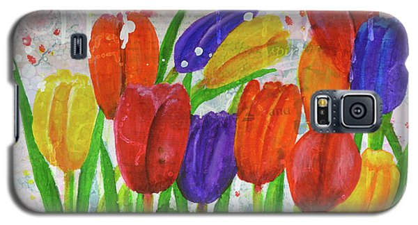 Totally Tulips Galaxy S5 Case