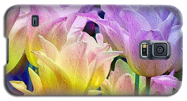 Totally Tulips Two Galaxy S5 Case