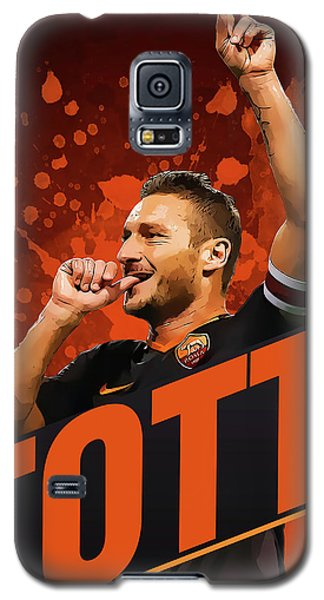 Totti Galaxy S5 Case by Semih Yurdabak