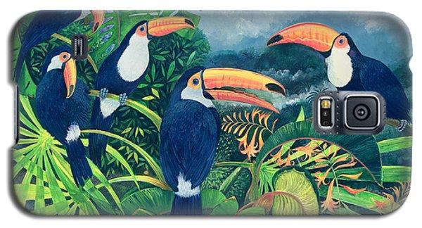 Toucan Talk Galaxy S5 Case by Lisa Graa Jensen