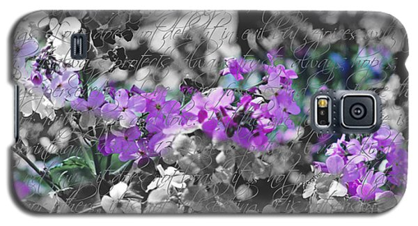 Touch Of Phlox Galaxy S5 Case