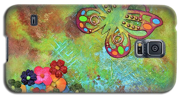 Touched By Enchantment Galaxy S5 Case by Donna Blackhall